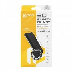 Apple iPhone 8 Plus/iPhone 7 Plus Prio 3D Full Face Tempered Glass Black