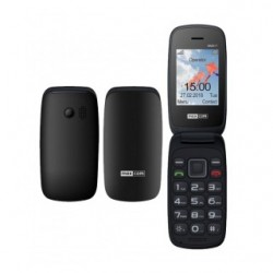 Maxcom Comfort MM817 Dual Sim GSM Phone Black (Ελληνικό Μενού)