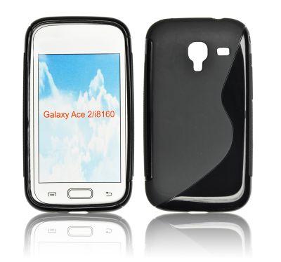 Silicone S-Line Samsung i8160 Galaxy Ace 2 black