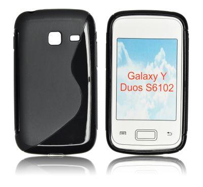 Silicone S-Line Samsung S6102 Galaxy Y Duos black