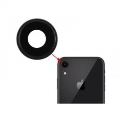 Apple iPhone XR BackCover+Camera Lens Black GRADE A