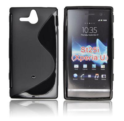 Silicone S-Line Sony Xperia U/ST25i black