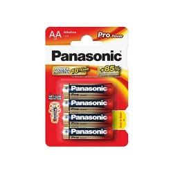 Panasonic LR6 Αλκαλική Μπαταρία AA Pro Power (4τεμ)