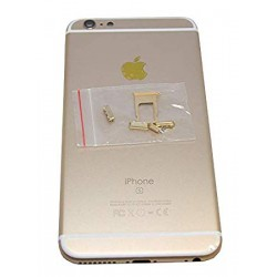 Apple iPhone 6S Plus Back Cover gold HQ