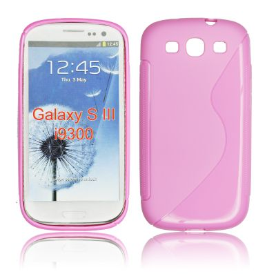 Silicone S-Line Samsung i9300 Galaxy S3 pink