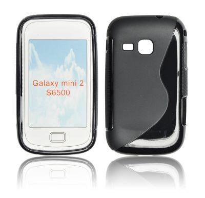 Silicone S-Line Samsung S6500 Galaxy Mini 2 black