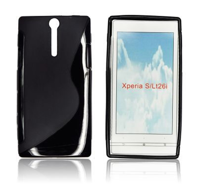 Silicone S-Line Sony Xperia S/LT26i black