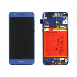 Huawei Honor 8 Lcd+Touch+Frame Blue ORIGINAL (Service Pack)