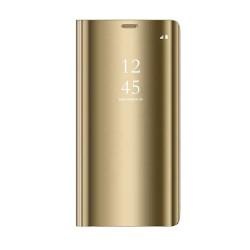 Samsung Galaxy A40 Clear View Book Case Gold