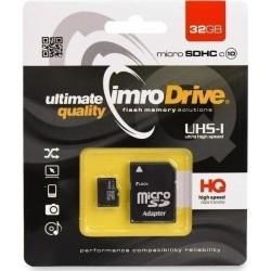 Imro MicroSD Card 32GB+Adapter Class10