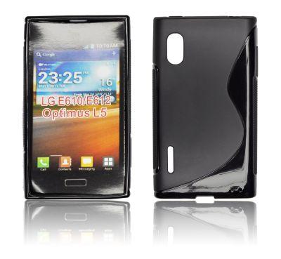 Silicone S-Line LG L5/E610 black