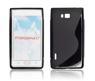 Silicone S-Line LG L7/P700 black
