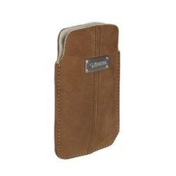 Krusell Luna Pouch Nubuck Style Size M Brown