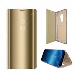 Xiaomi Redmi 7A Clear View Book Case Gold