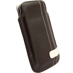 Krusell Gaia Mobile Pouch Size M Brown