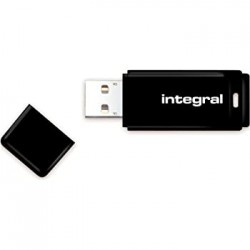 Integral 64GB Usb 2.0 Pendrive Black