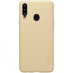 Samsung Galaxy A20s Nillkin Super Frosted Silicone Gold