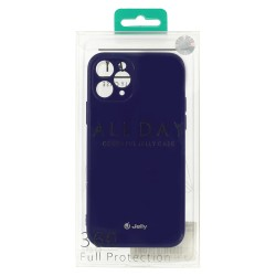 Apple iPhone 12/12 Pro Jelly Silicone Violet