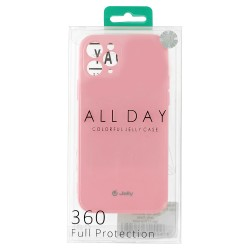 Apple iPhone 12/12 Pro Jelly Silicone Light Pink