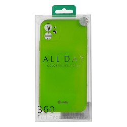 Apple iPhone 12/12 Pro Jelly Silicone Lime