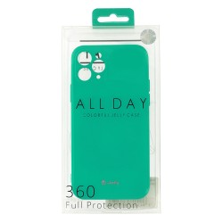 Apple iPhone 12/12 Pro Jelly Silicone Mint