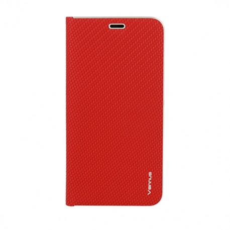 Apple iPhone 12/12 Pro Vennus Carbon Case Red