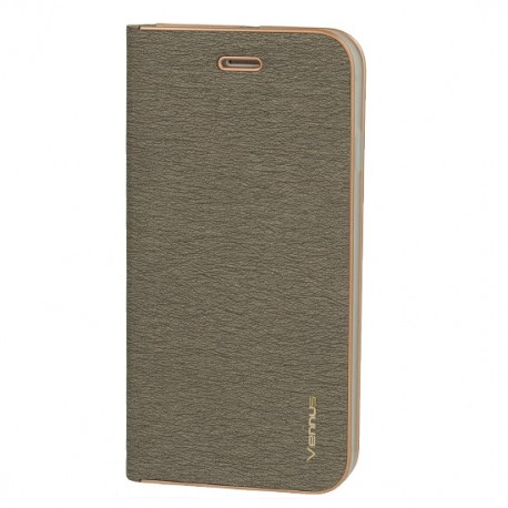 Apple iPhone 12 Mini Vennus Book Case Grey