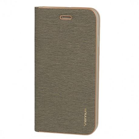 Apple iPhone 12 Pro Max Vennus Book Case Grey