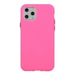 Apple iPhone 12 Pro Max Testa Solid Silicone Pink