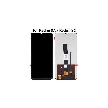 Xiaomi Redmi 9A/9C Lcd+Touch Screen w/o Frame Black GRADE A