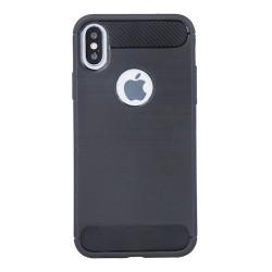 Samsung Galaxy A21S Testa Carbon Silicone Black