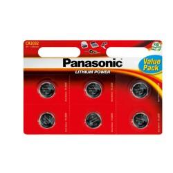 Panasonic CR2032 Λιθίου Μπαταρία 6pcs