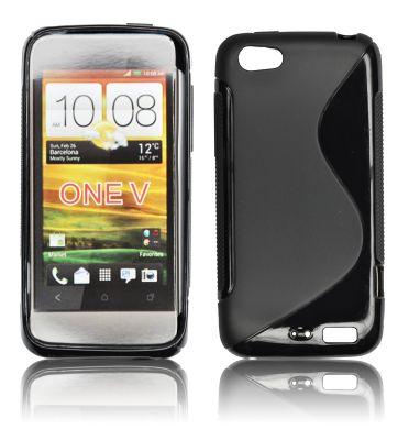 Silicone S-Line HTC One V black