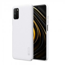 Xiaomi Poco M3 Nillkin Super Frosted BackCase White