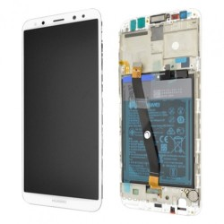 Huawei Mate 10 Lite Lcd+Touch Screen+Frame White/Gold ORIGINAL