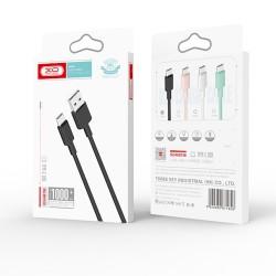 XO NB156 Lightning Usb DataCable 2.4A 1m White