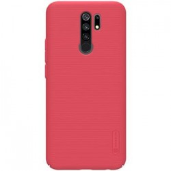 Xiaomi Redmi 9 Nillkin Super Frosted BackCase Red