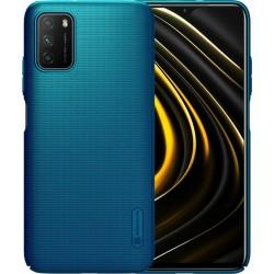 Xiaomi Poco M3/Redmi 9T Nillkin Super Frosted BackCase Peacock Blue