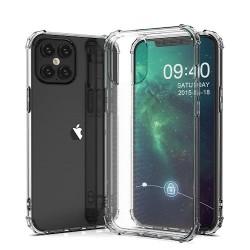 Samsung Galaxy A02S Testa Anti Shock Silicone Transparent