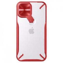 Apple iPhone 12/12 Pro Nillkin Cyclops Silicone Red