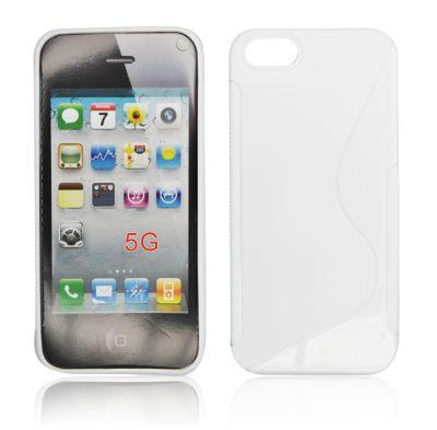 Silicone S-Line iPhone 5S/5 white