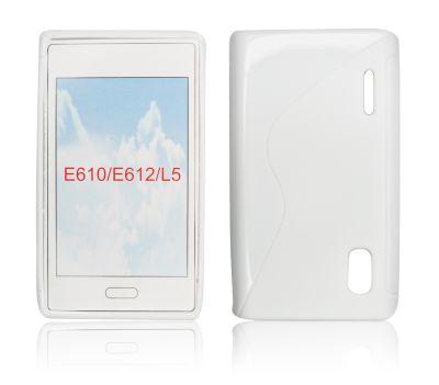 Silicone S-Line LG L5/E610 white