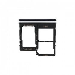 Samsung A31 Sim/SD Card Tray Black ORIGINAL