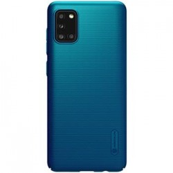 Samsung Galaxy A31 Nillkin Super Frosted BackCase Peacock Blue
