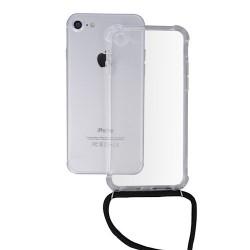 Xiaomi Redmi Note 9 Testa Neck Strap Silicone Black