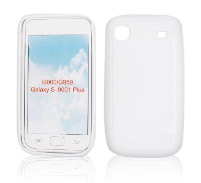 Silicone S-Line Samsung i9000 Galaxy S white