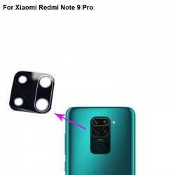 Xiaomi Redmi Note 9 Pro Camera Lens Black GRADE A