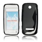 Silicone S-Line Nokia 305/306 black