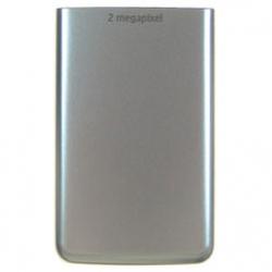 Nokia 6300 BatteryCover silver ORIGINAL