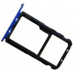 Huawei Mate 20 Lite Sim/SD Card Tray Blue ORIGINAL